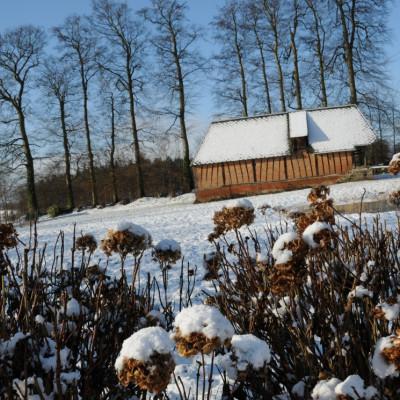 hiver 2010 ferme des authieux -12°C