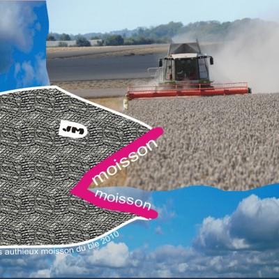 La moisson des blés à la ferme cueillette des authieux récolte 2010
